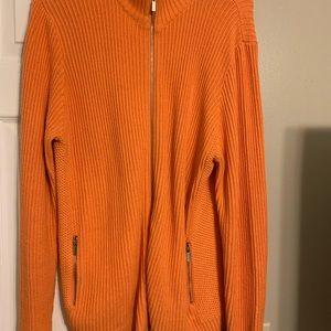 Zip up Liz Claiborne sweater/cardigan
